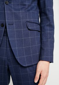 Lindbergh - CHECKED SUIT - Completo - blue - 8