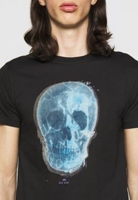 PS Paul Smith - MENS SLIM FIT SKULL - Print T-shirt - black - 5
