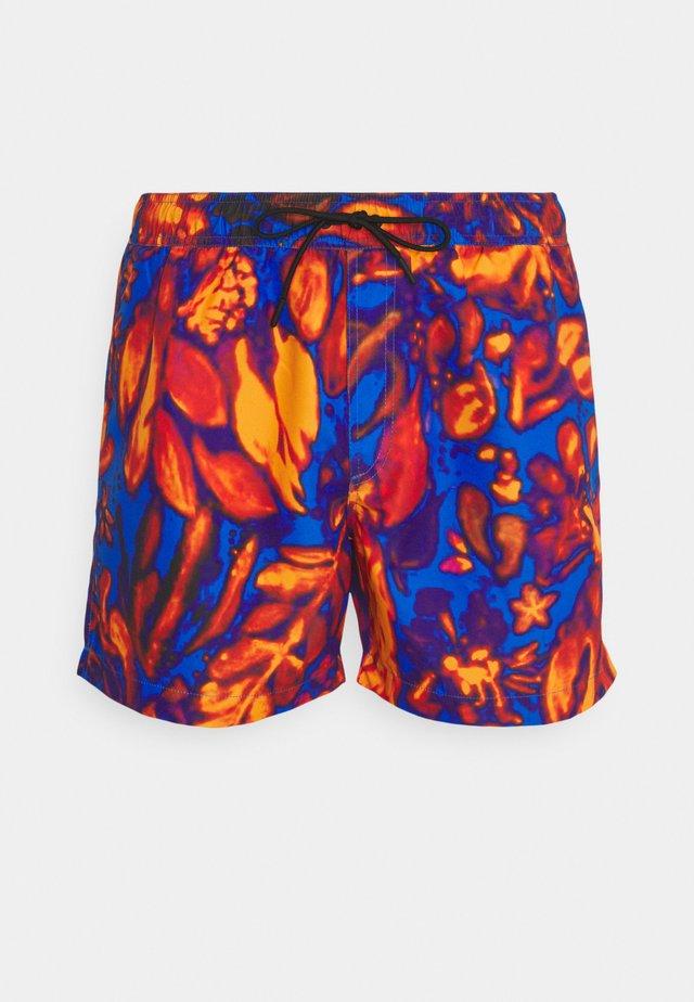 Zwemshorts - orange/blue