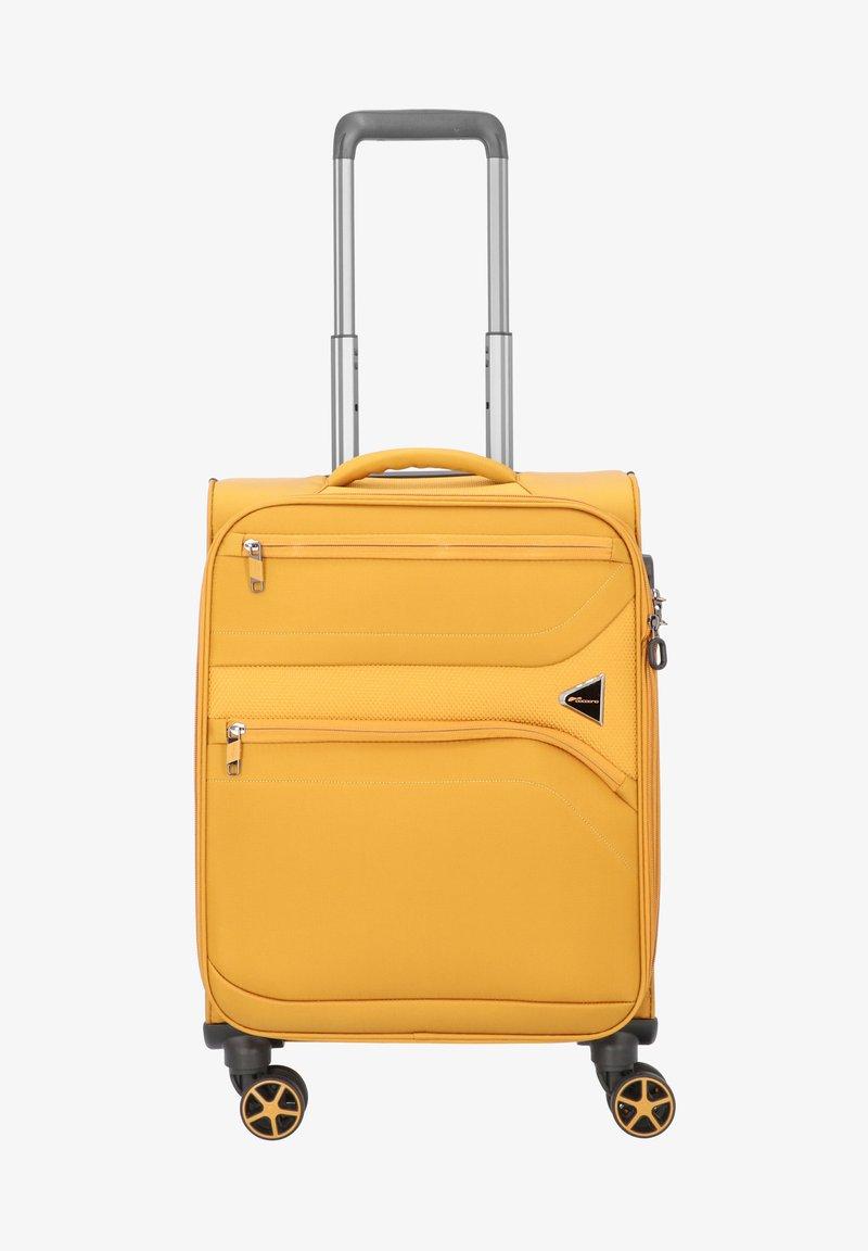 Cocoono - DEVOTION - Wheeled suitcase - saffron