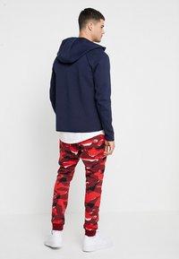 Nike Sportswear - Sudadera con cremallera - obsidian/white - 2