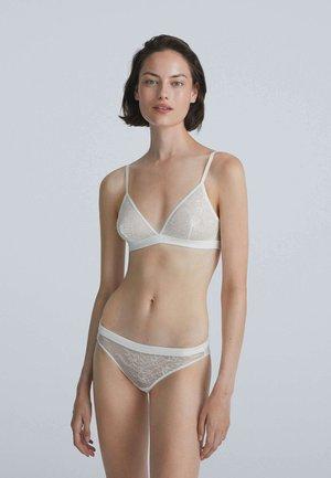 Triangle bra - off white
