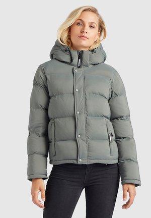 CAMILLE - Winter jacket - graugrün