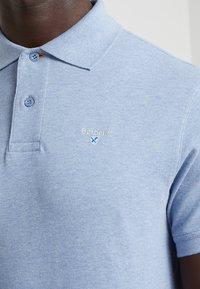 Barbour - TARTAN - Polo shirt - sky marl - 4