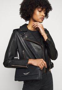 LIU JO - CHIODO - Leather jacket - nero - 3