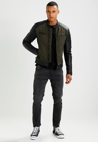 Be Edgy - ANDY  - Leather jacket - khaki - 1