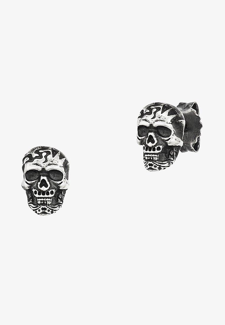 Caï - Earrings - silver-coloured