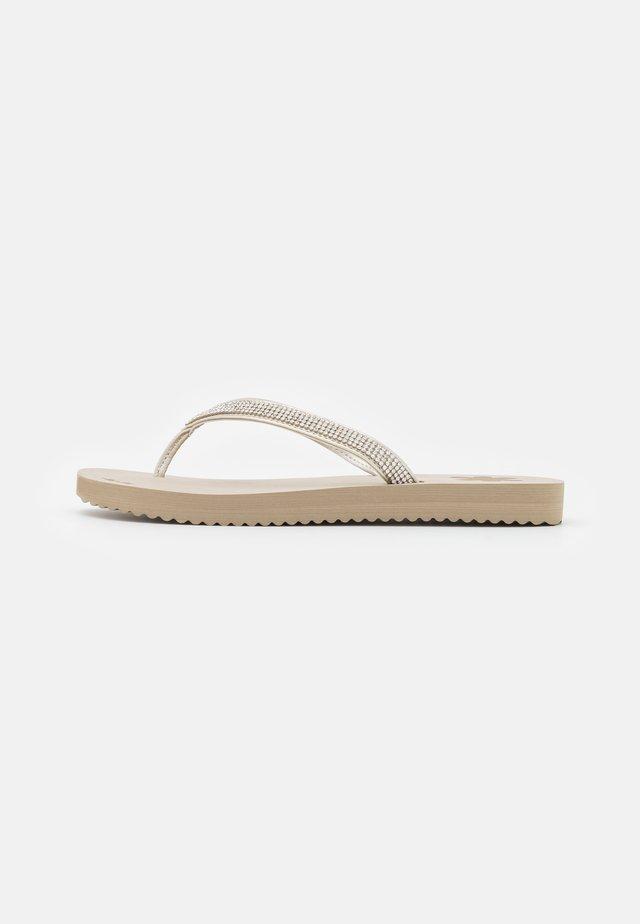 GLAM  - Sandaler m/ tåsplit - taupe