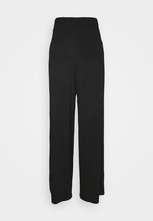 FLOW PANTS - Broek - black