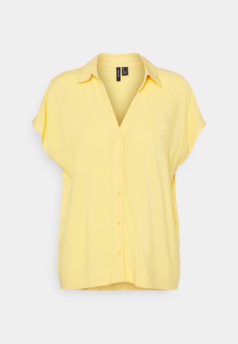 Vero Moda - VMFELICITY - Button-down blouse - cornsilk