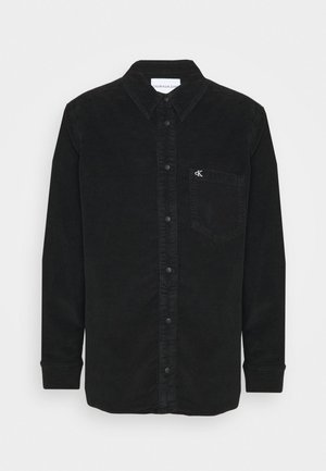CORDUROY SHACKET - Summer jacket - black