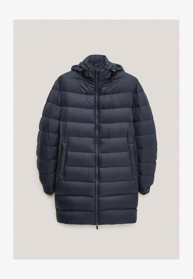 Down coat - blue-black denim