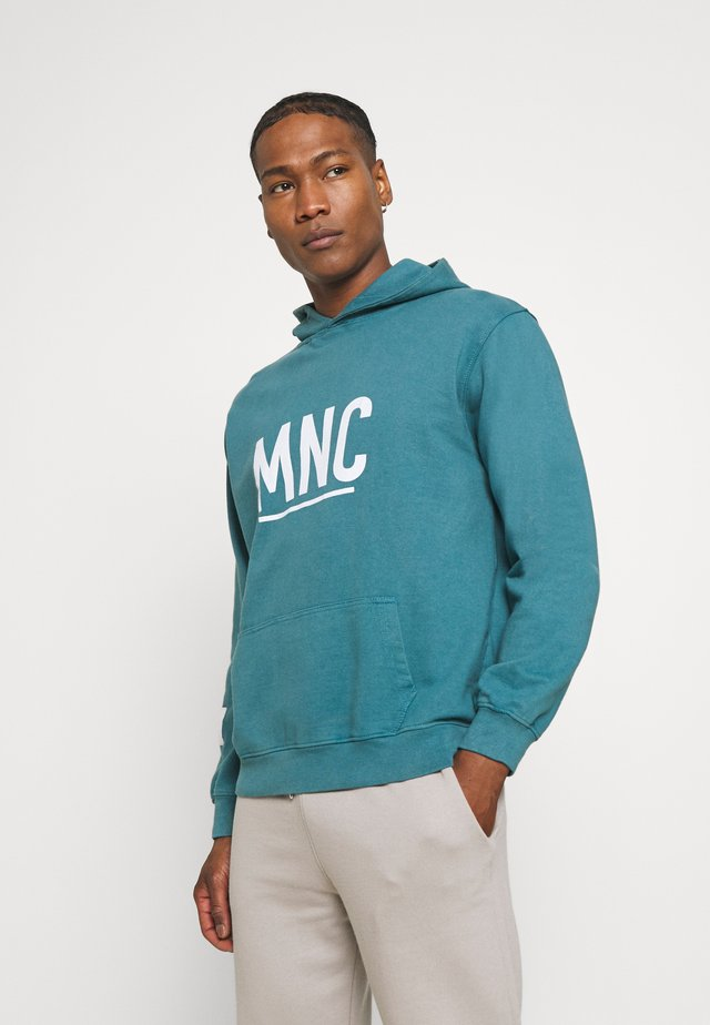 COURTSIDE WASHED REGULAR HOODIE - Sweatshirt - green