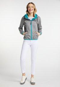 Schmuddelwedda - Outdoor jacket - grey melange - 1