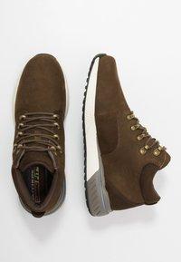 Skechers - FELANO - Sneaker high - taupe - 1