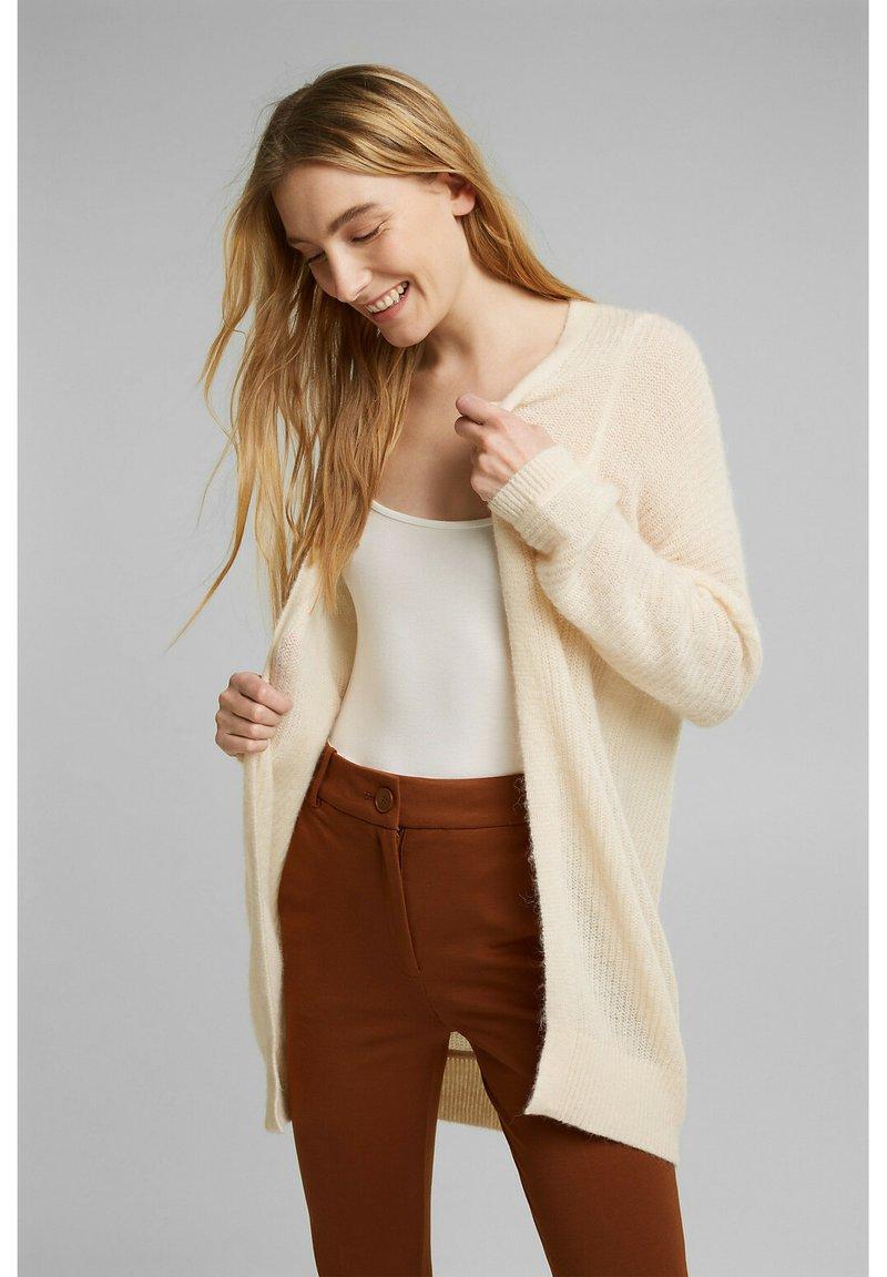 Esprit Collection - Cardigan - cream beige