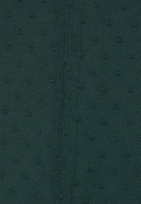 Missguided Tall - MILKMAID SKATER DRESS DOBBY - Day dress - dark green - 2