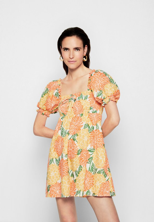 MIGUELINA MINI DRESS - Day dress - mariposa