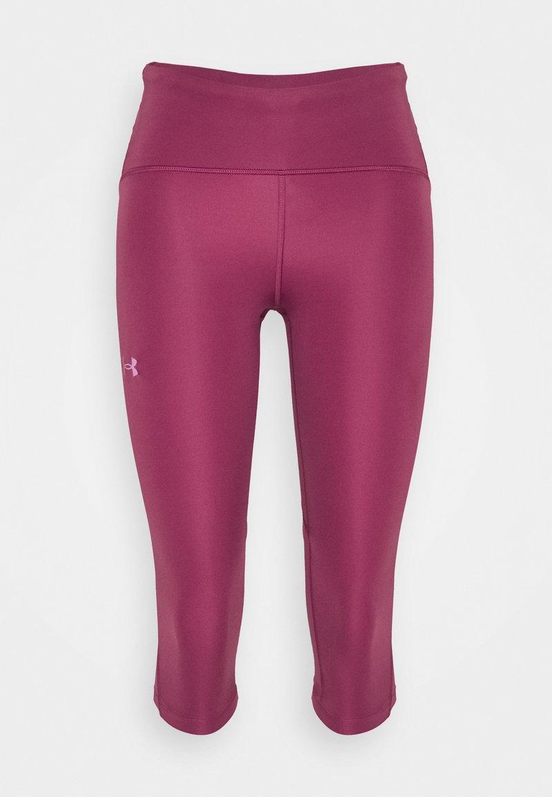 Under Armour - FLY FAST SPEED CAPRI - Pantalón 3/4 de deporte - pink quartz