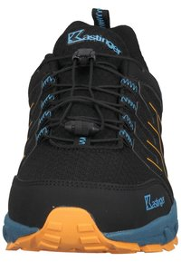 Kastinger - Sneakers laag - black/orange - 5