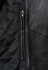 Mango - PERFECT - Leather jacket - schwarz - 7