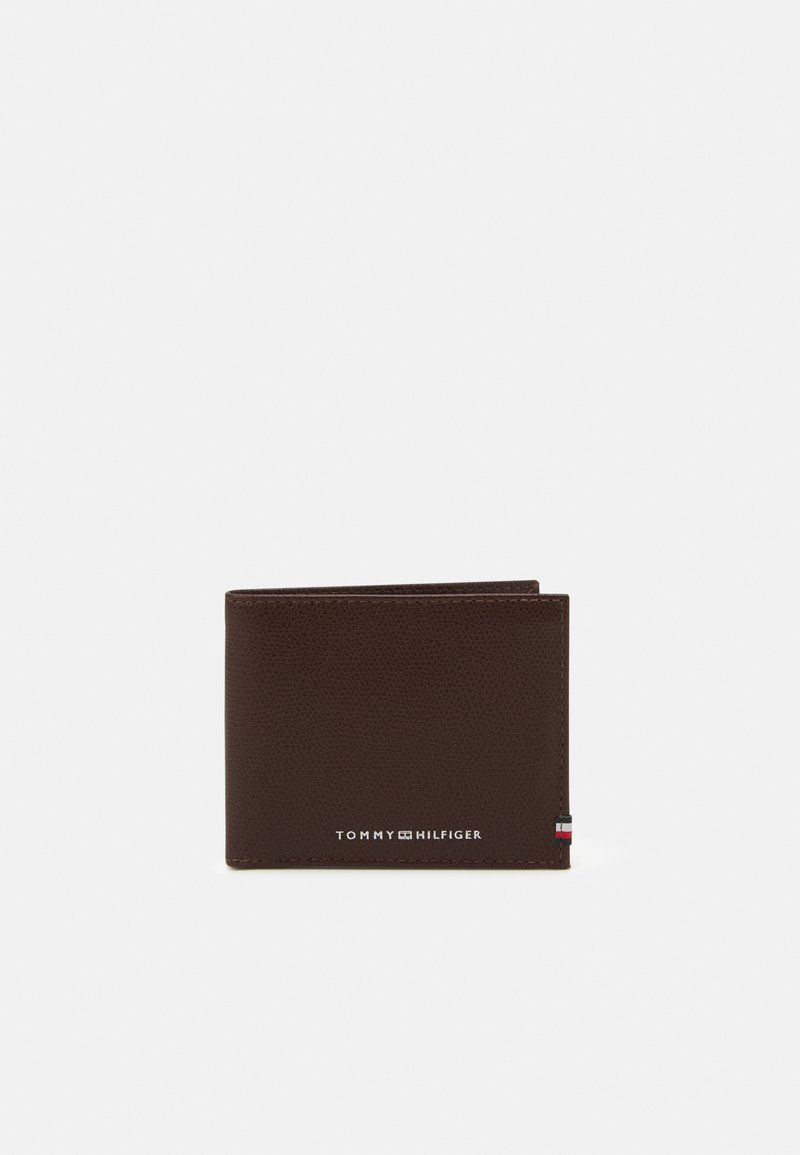 Tommy Hilfiger - BUSINESS MINI WALLET - Portemonnee - chestnut
