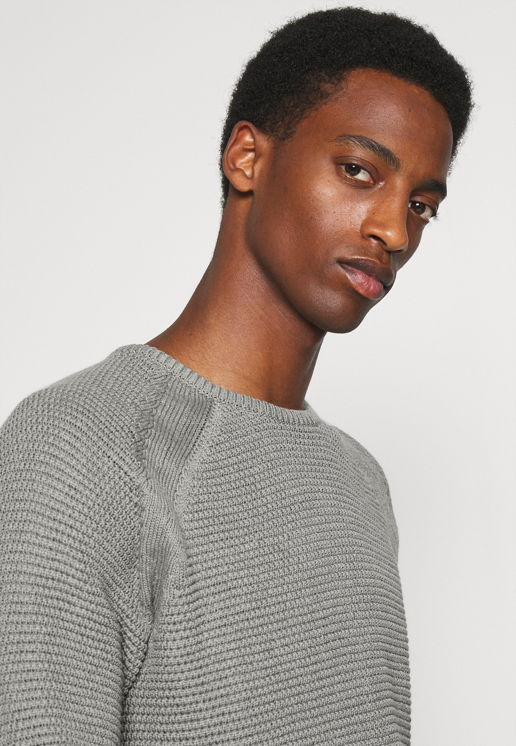 Homme KRISTIAN BUBBLE CREW NECK - Pullover