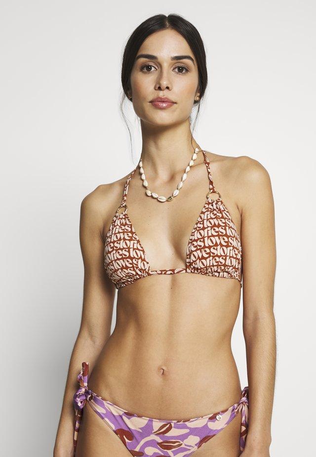 JOY - Bikinitop - orange/beige