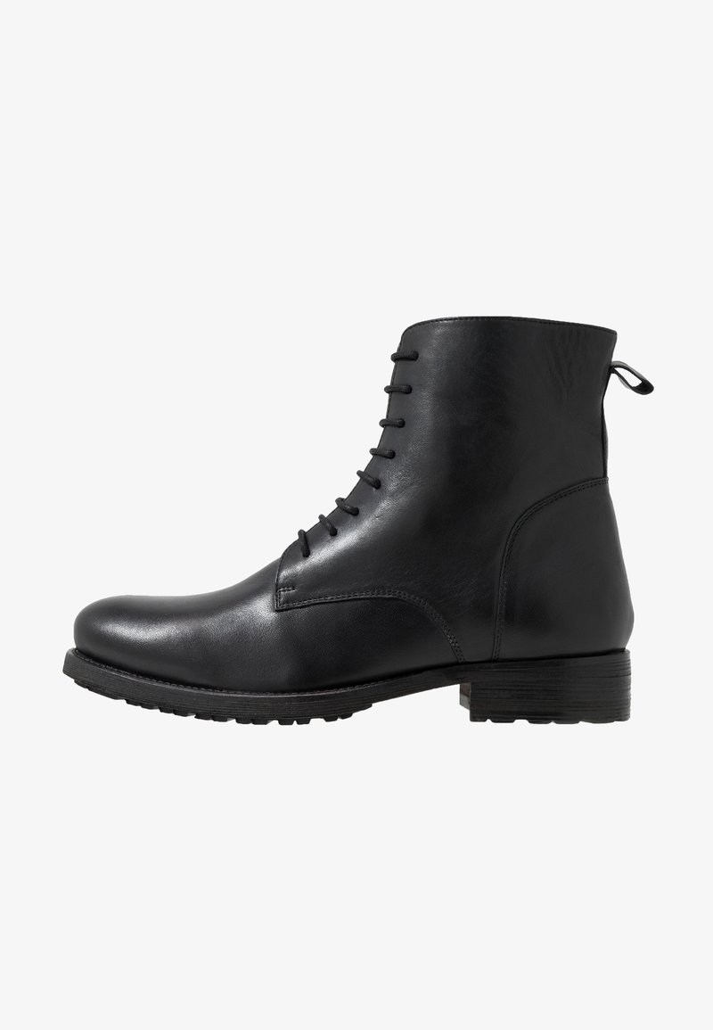 Jacamo - MILITARY BOOT - Lace-up ankle boots - black