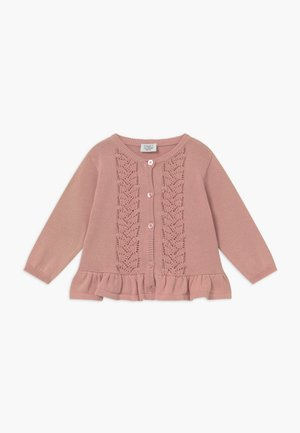CANDIE BABY - Cardigan - dusty rose