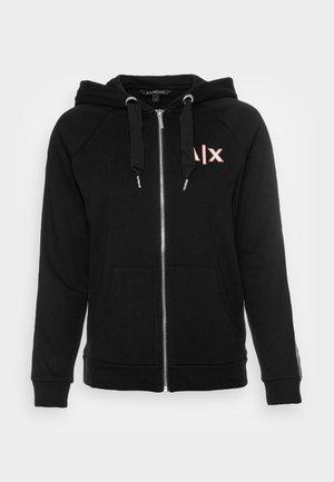 FELPA FRENCH TERRY - Zip-up sweatshirt - black