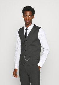 Jack & Jones PREMIUM - JPRBLAKIV FRANCE WAISTCOAT - Vest - dark grey - 0