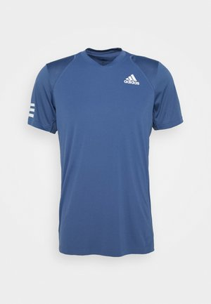CLUB TEE - T-shirt con stampa - blue/white