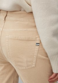 Marc O'Polo - ALBY SLIM - Trousers - vintage stone - 4