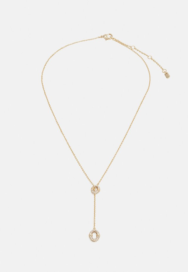 LONG LINK YNECK - Collier - gold-coloured