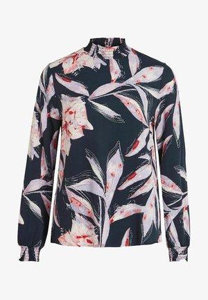 VIDANIA SMOCK - Long sleeved top - navy blazer