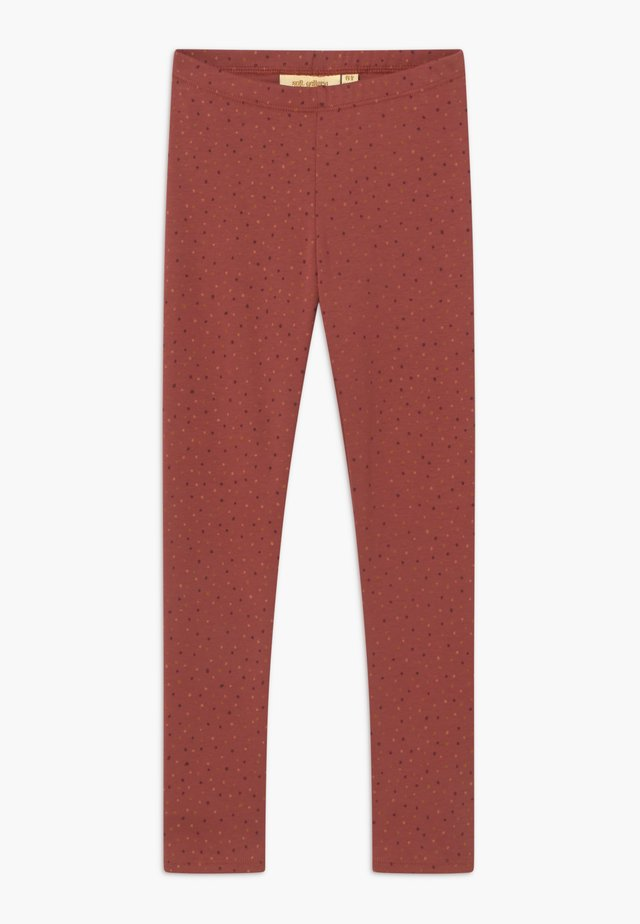 PAULA - Leggings - Trousers - barn red