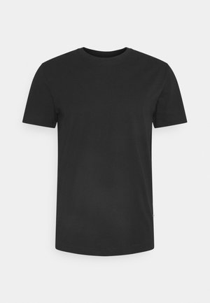 SLHNORMAN O NECK TEE  - Basic T-shirt - black