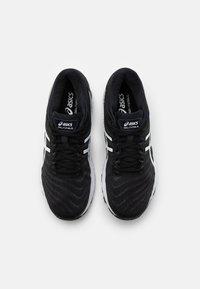 ASICS - GEL NIMBUS 22 - Neutral running shoes - black/white - 3
