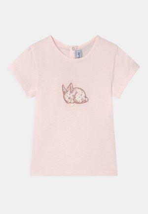Print T-shirt - rose pâle