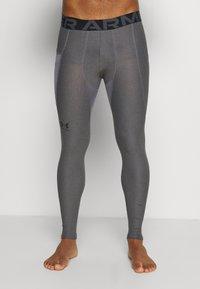 Under Armour - LEGGINGS - Leggings - carbon heather - 3