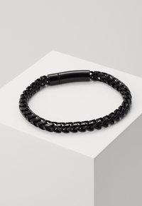 Icon Brand - FACET CHAIN BRACELET - Pulsera - black - 0