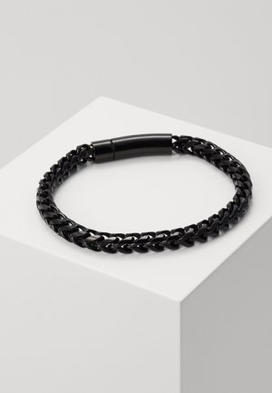 FACET CHAIN BRACELET - Bracelet - black