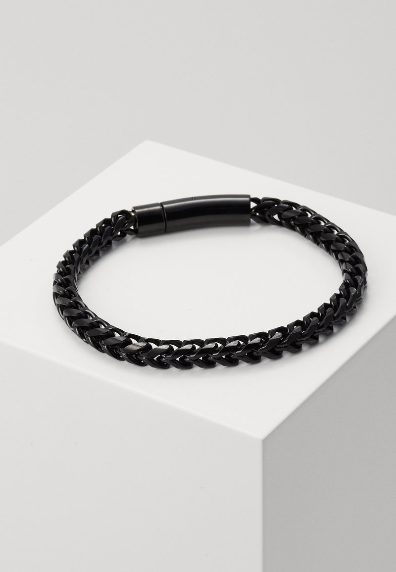 Icon Brand - FACET CHAIN BRACELET - Pulsera - black