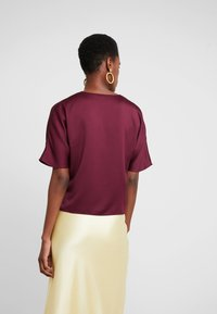 French Connection - ALESSIA WRAP  - Blouse - berry blush - 3