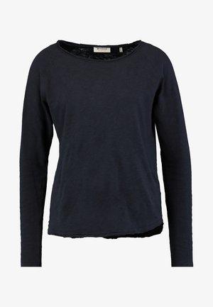 HEAVY LONGSLEEVE - Long sleeved top - deep blue