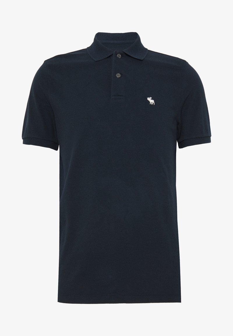 Abercrombie & Fitch SPRING NEUTRAL CORE - Poloshirt - navy/dunkelblau cAREfZ