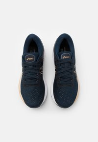 ASICS - GEL-KAYANO 27 - Stabilty running shoes - french blue/champagne - 3