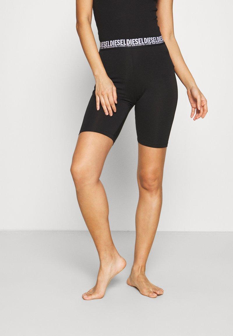 Diesel - UFLB-FAUSTIN SHORTS - Pyjama bottoms - black