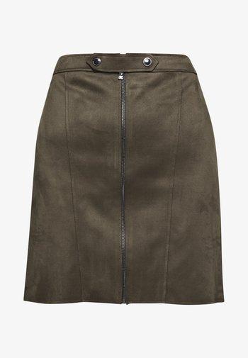 Mini skirt - khaki